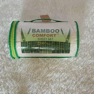 King size Bamboo sheets